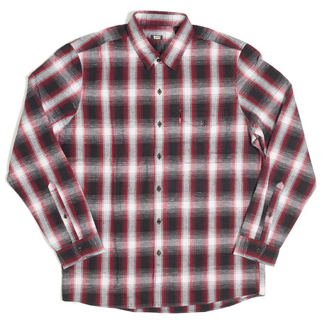 Levis Skateboarding Reform Shirt - Jester Red Plaid