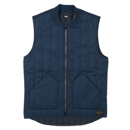 Levis Skateboarding Vest - Dress Blues