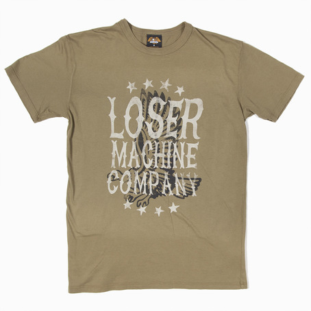 Loser Machine Forthright T-Shirt - Army - Loser Machine T-Shirt