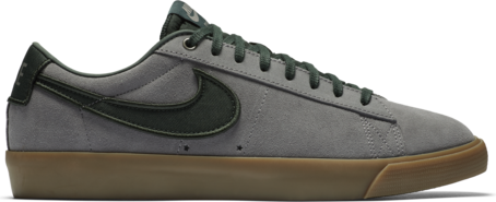 Nike SB Blazer Low GT - Gunsmoke/Black Spruce/Light Brown