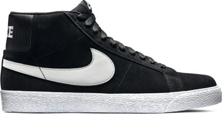 Nike SB Blazer Premium - Black/Base Grey