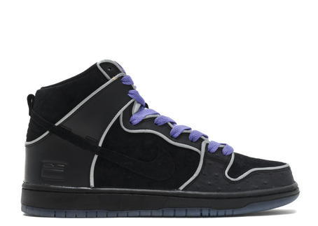 Nike SB Dunk High Elite - Black/White/Purple Haze - Box Series