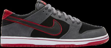 Nike SB Dunk Low Pro Ishod Wair - Dark Grey/Black/University Red/White