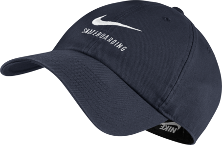Nike SB H86 Cap - Obsidian/White