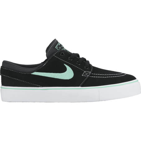 Nike SB Janoski Kids - Black/Green Glow/White