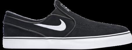Nike SB Janoski Slip On - Black/White