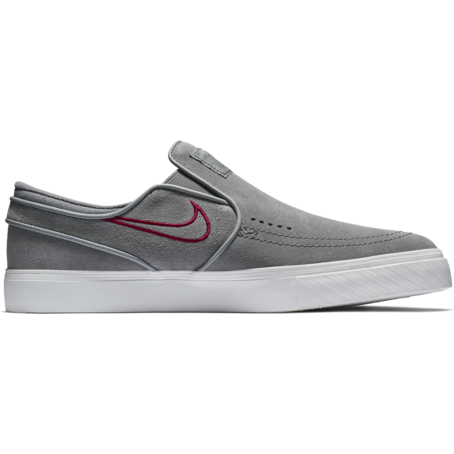 Nike SB Stefan Janoski Slip On - Gunsmoke/Red Crush