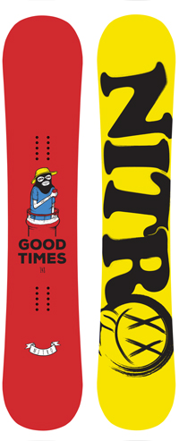 Nitro GOOD TIMES 148 LTD UK EDITION snowboard