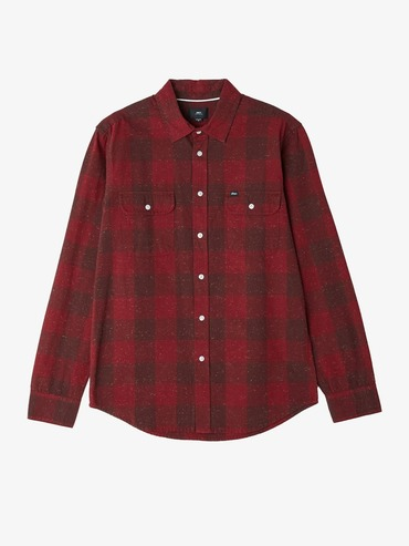 Obey Drifter Shirt - Burgundy