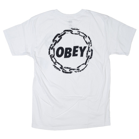 Obey Jumble Chain Premium T-Shirt - White