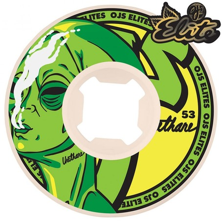 OJ Universals Elite Alien Toke Wheels 101a - 53mm