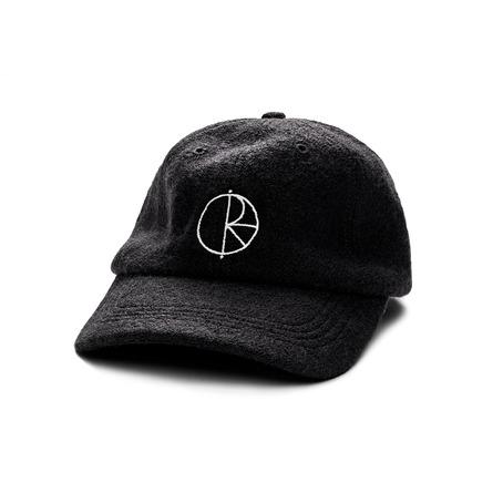 Polar Boiled Wool Cap - Black