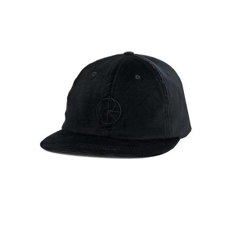 Polar Flat Corduroy Cap - Black