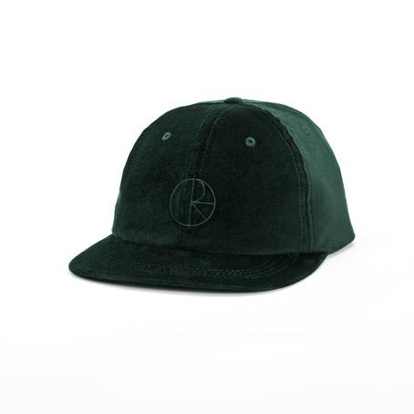 Polar Flat Corduroy Cap - Dark Green
