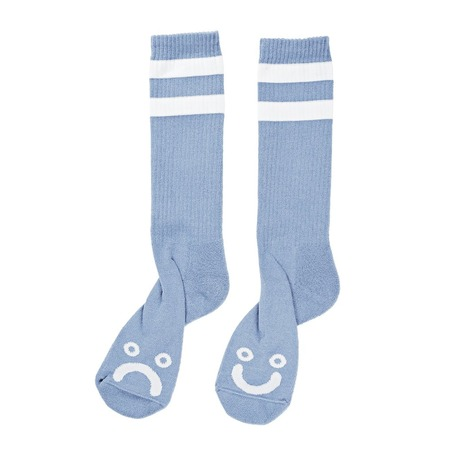 Polar Happy/Sad Classic Socks - Powder Blue