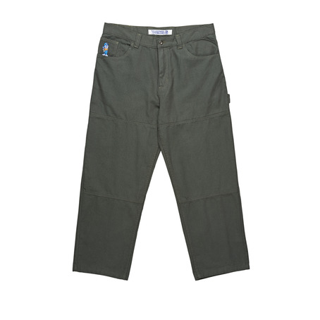 Polar Skate Co 93 Canvas Pant - Grey Green