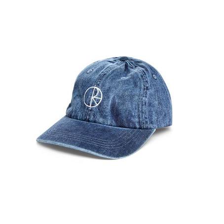 POLAR SKATE CO DENIM CAP - BLUE
