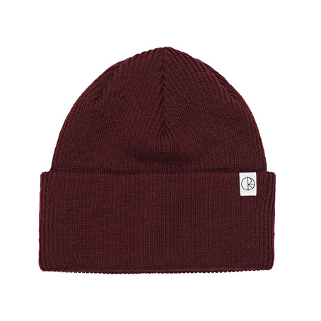 Polar Skate Co Merino Beanie - Burgundy