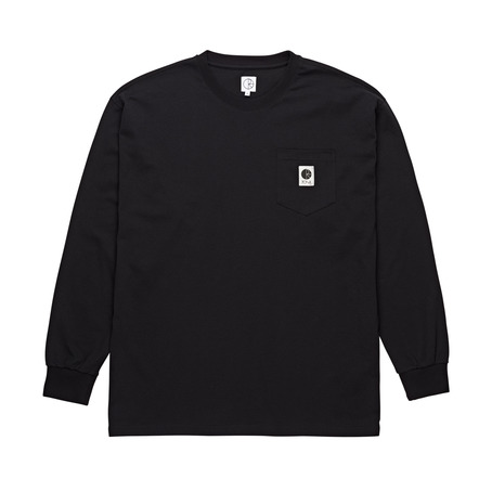 Polar Skate Co Pocket Long Sleeve - Black