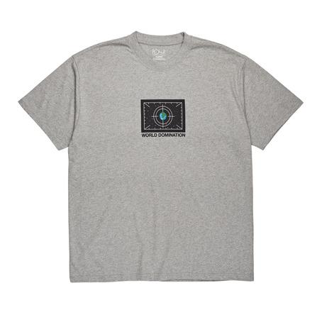 Polar Skate Co World Domination Tee - Grey