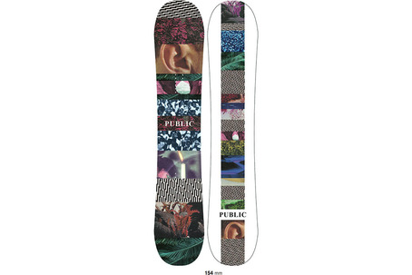Public Therapy Snowboard 2017 - 154