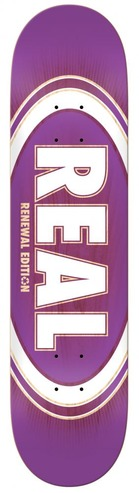 REAL PP OVAL BURST FADE DECK - 8.25