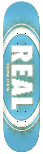 REAL PP OVAL BURST FADE DECK - 8.5