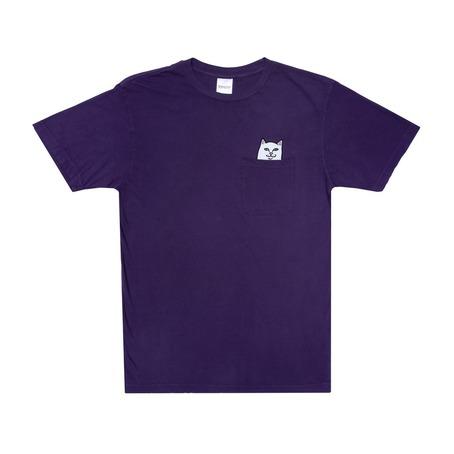 Rip N Dip Lord Nermal Pocket Tee - Purple