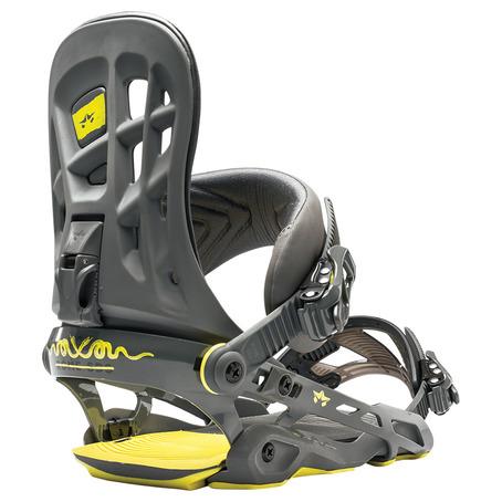 Rome 390 Boss Snowboard Bindings - Gunmetal