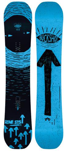 Rome Buckshot Snowboard 2018 - 155