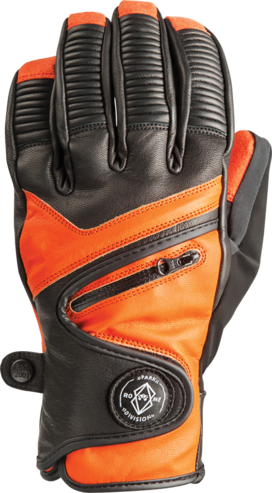 Rome Bushwood Gloves - Orange