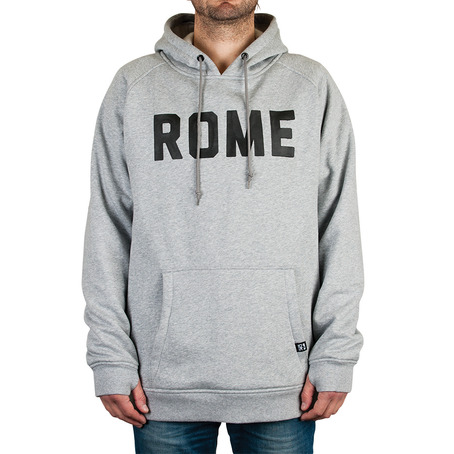 Rome Riding Pullover Hood - Grey