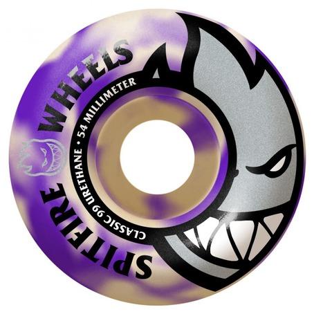 Spitfire Bighead Wheels 54mm - Purple Swirl 99DU