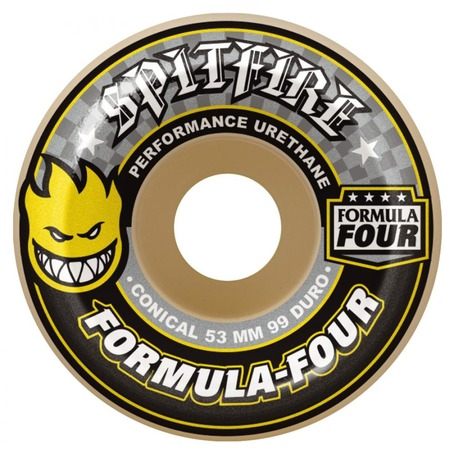Spitfire Formula Four Conical Wheels 99d - 52mm