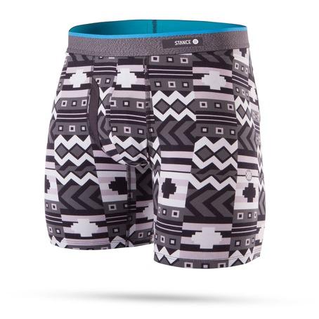 Stance Block Puzzle Boxer Shorts - Black
