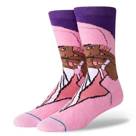 Stance Cam'ron Socks - Pink