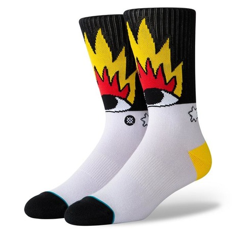 Stance Fire & Eyes Crew Socks - Multi