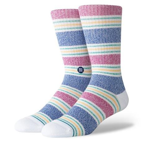 Stance Leslee Crew Socks - White