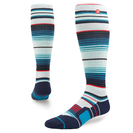 Stance Inyo Snowboard Socks - Grey Heather