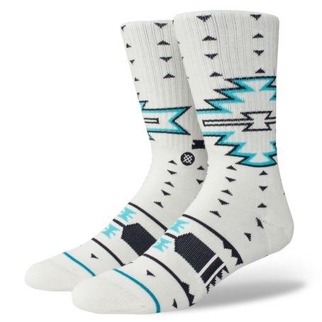 Stance Leckey Socks - White