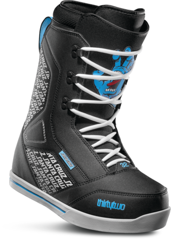 Thirty Two 86 Santa Cruz Boot - Black/Blue/White