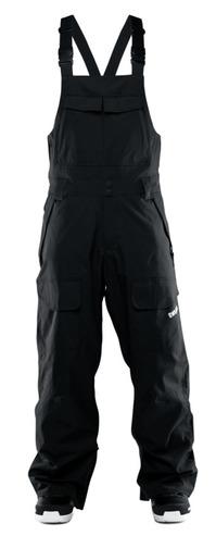 Thirty Two Basement Bib Pant - Black