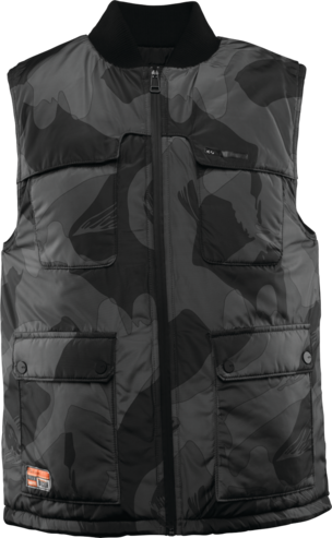 Thirty Two Beacon Reversible Vest - Black/Camo
