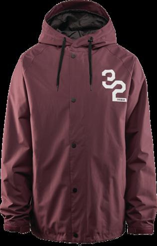 Thirty Two Grasser Jacket - Burgundy