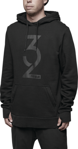 Thirty Two Marquee Hood - Black