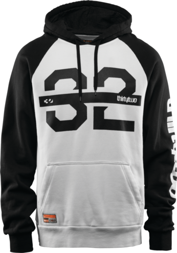 Thirty Two Marquee Hood - White/Black