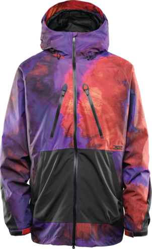 Thirty Two Mullair Jacket - Black/Purple