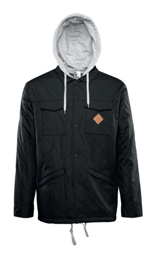 Thirty Two Myder Hooded Jacket - Black