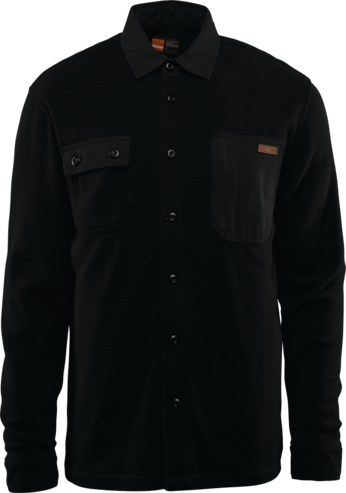 Thirty Two Rest Stop Fleece Shirt - Black