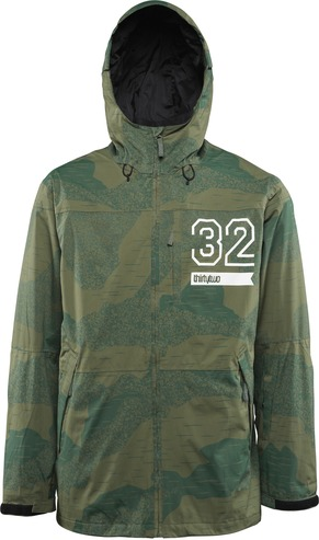 Thirty Two Shiloh Jacket - Camo